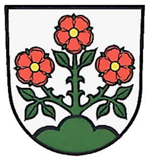 Rosenberg (Ostalb) - Image: Rosenberg wappen