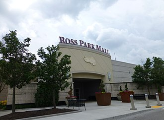 Ross Park Mall - The entrance to the mall