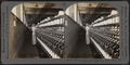 Roving frame. Silk industry (spun silk), South Manchester, Conn., U.S.A, by Keystone View Company.png