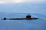 Royal Navy submarine breaks through Arctic ice for major exercise MOD 45163922.jpg
