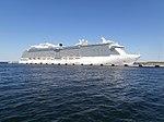 Royal Princess at pier 27 Port of Tallinn 17 May 2014.jpg