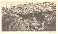 Rudolf Balogh - Battles of the Isonzo postcard 14.jpg