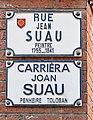 Rue Jean-Suau Toulouse - Plaques.jpg