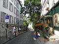 Rue des Saules, Bistrou La Bonne Franquette, Paris, France.jpg
