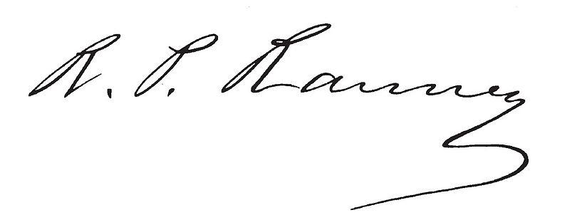 File:Rufus P. Ranney signature.jpg