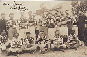 Rugby union in Senegal - A Senegalese team in 1911