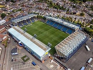 Rugby Park Football stadium in Kilmarnock, Scotland