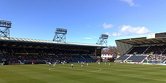 Kilmarnock F.C. - Rugby Park stadium, situated on Rugby Road, home of Kilmarnock FC