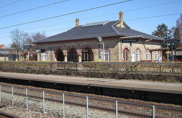 Railway stations in denmark for Ted s fishing station