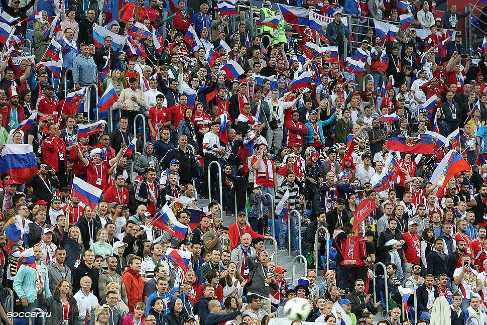 Russian fans FIFA 2018
