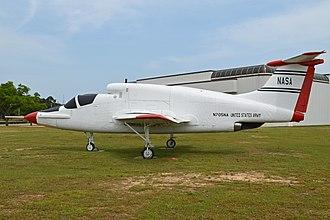 Ryan XV-5 Vertifan - XV-5B at the United States Army Aviation Museum
