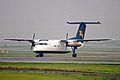 S2-ADJ DHC Dash 8-102 GMG Airlines MAN 16NOV02 (8303510490).jpg