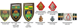 Regiment Piet Retief - SADF era Regiment Piet Retief insignia