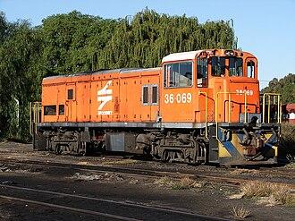 South African Class 36-000 - Image: SAR Class 36 000 36 069
