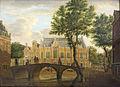 SA 4052-Het Spui met de Oude Lutherse Kerk gezien vanaf de Nieuwezijds Voorburgwal.jpg