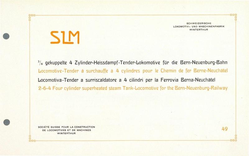 File:SBB Historic - 49 - 3 6 gekuppelte 4 Zylinder-Heissdampf-Tender-Lokomotive für die Bern-Neuenburg-Bahn.pdf