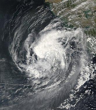 2006 North Indian Ocean cyclone season - Image: SCS Mukda 2006