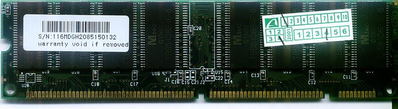 SDR SDRAM 133MHz