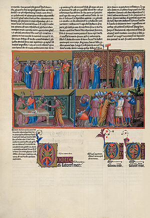 Great Canterbury Psalter - The Great Canterbury Psalter, f. 154v