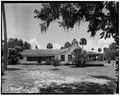 SIDE VIEW - Marjorie Kinnan Rawlings House, State Route 325 Vicinity, Cross Creek, Alachua County, FL HABS FLA,1-CROCR,1-3.tif