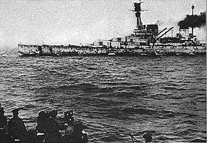 SMS Hindenburg - Hindenburg steams to Scapa Flow