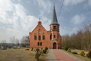 Szczodrów - evangelical church
