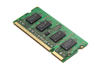 English: 1GB SO-DIMM DDR2 memory module