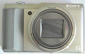 Sony Cyber-shot DSC-HX50 - Image: SONY DSC (Digital Still Camera) HX (Hyper Xoom) 50 (Series) 4