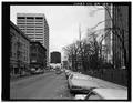 STREETSCAPE LOOKING SOUTH. - Hotel Lenox, 1100-1116 Southwest Third Street, Portland, Multnomah County, OR HABS ORE,26-PORT,5-2.tif