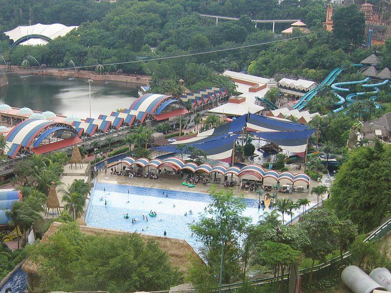Sunway Lagoon Amusement Park in Malaysia