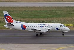Saab 340 der Crossair Europe
