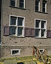 sacristie, gedeelte van gevel met oorlogsschade, noordgevel van de kerk - cuijk - 20341943 - rce
