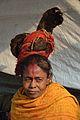 Sadhvi - Gangasagar Fair Transit Camp - Kolkata 2013-01-12 2517.JPG