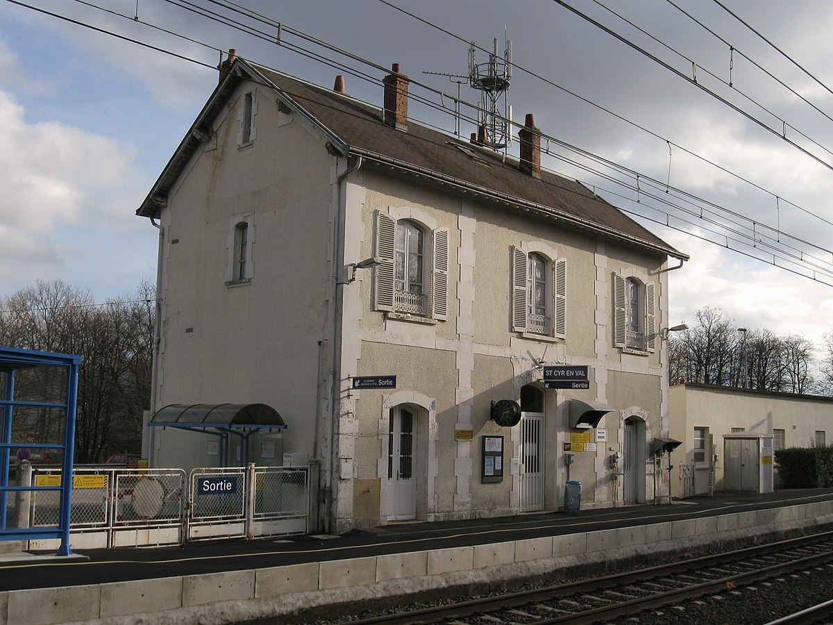 gare de saint cyr en val la source wikip dia. Black Bedroom Furniture Sets. Home Design Ideas