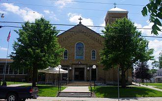 Harrison, Ohio - St. John the Baptist Church in Harrison