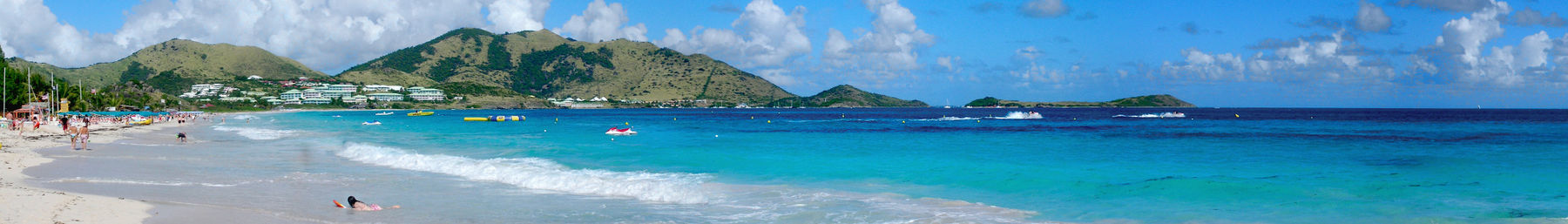 Orient Beach in Saint Martin
