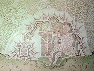 Saint Martin de Re 17th century map