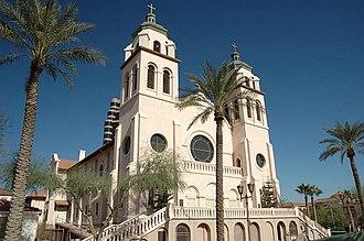 St. Mary's Basilica (Phoenix) - Saint Mary's Basilica in Phoenix, Arizona