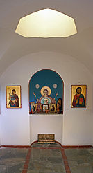 Saint Nicholas chapel interior on Limassol pier 2010 2.jpg