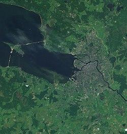 Satellite picture of St. Peterburg