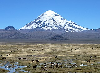 Nevado Sajama mountain
