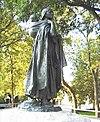 """Sacagawea"" (1910), North Dakota State Capitol, Leonard Crunelle, sculptor."
