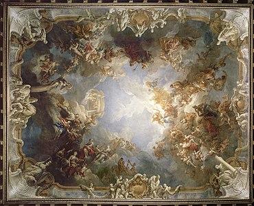 Salon d'Hercule-plafond
