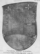 Samoan crisis memorial tablet 6