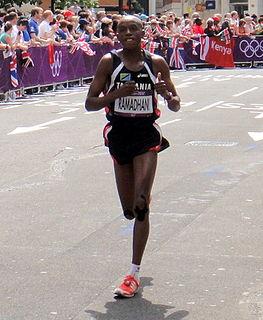 Samson Ramadhani Tanzanian marathon runner