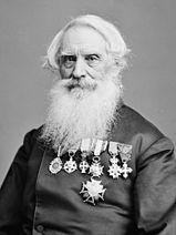 Portrait of Samuel F. B. Morse by Mathew Brady, between 1855 and 1865