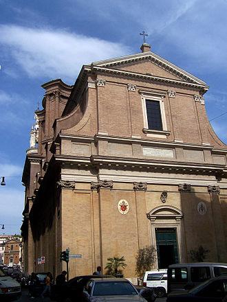 Sant'Andrea delle Fratte - Image: San'Andrea delle Fratte facade Panairjdde