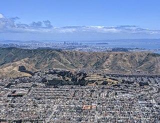 San Bruno Mountain Mountain in California, United States