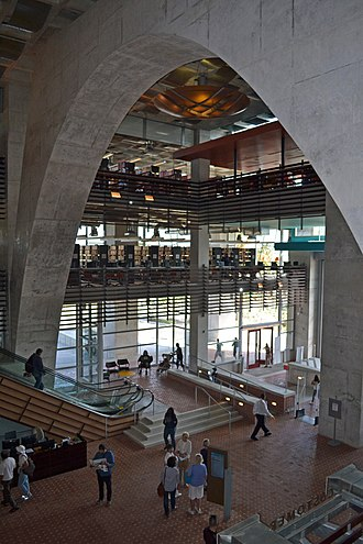 San Diego Central Library - Lobby
