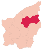 Domagnano's location in San Marino